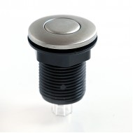 Пневмокнопка металл матовая Ø32 мм