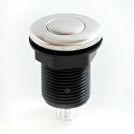 Пневмокнопка металл хромированная  Ø32 мм