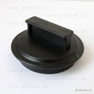 Крышка-заглушка пластик Ø 80 мм.